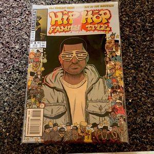 Hip Hop Family Tree Comic Kanye West Variant #1
